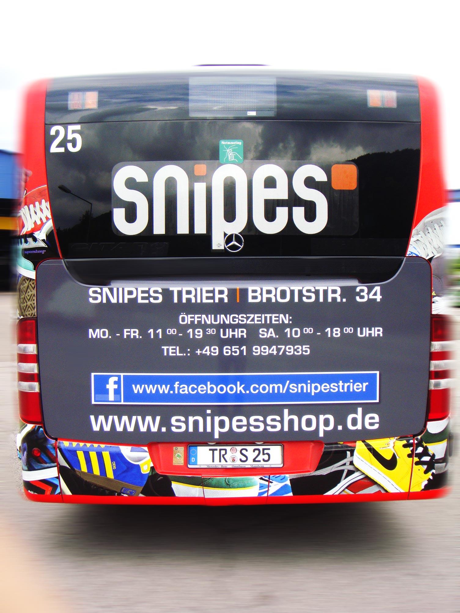 snipes trier