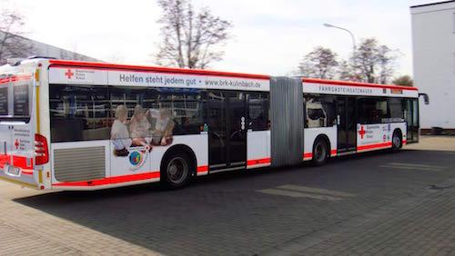 BRK Buswerbung