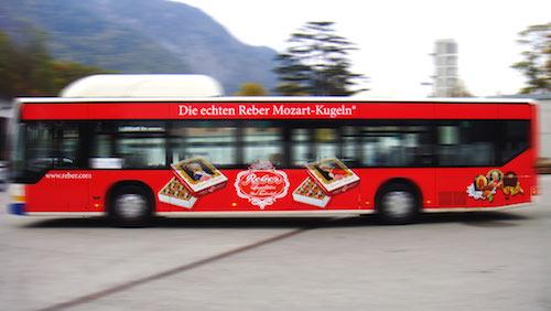 Reber Mozartkugeln • Bad Reichenhall u.a.